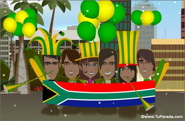 Cartão - África do Sul