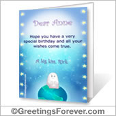 Printable card: For someone special - For desktop
