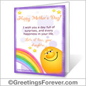 Printable card: Happy Mother's Day