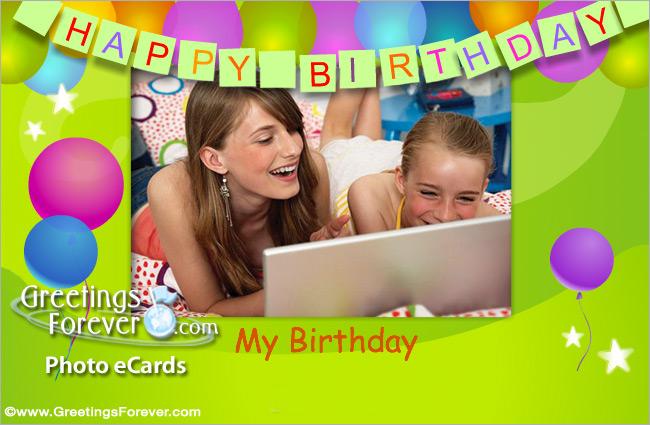 Ecard - Happy Birthday card