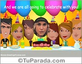Ecards: Today is your Birthday