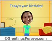 Ecards: Birthday ecard