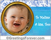 Ecards: Photo frame