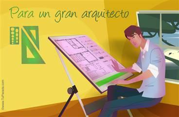 Tarjeta para arquitectos