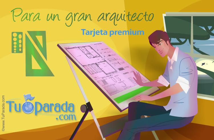 Tarjeta - Tarjeta para arquitectos