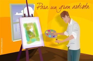 Para un gran artista
