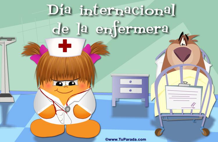 Ver fecha especial de Día internacional de la enfermera