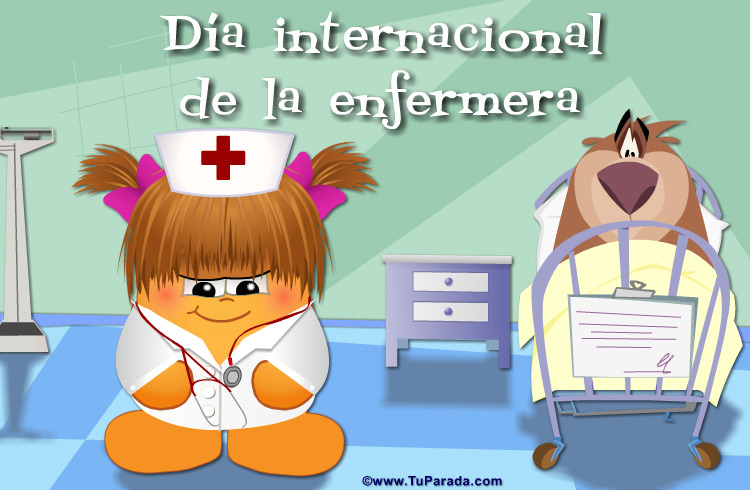 Tarjeta - Día internacional de la enfermera