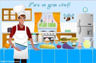 Para un gran chef