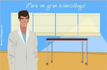 Tarjeta para kinesiólogos