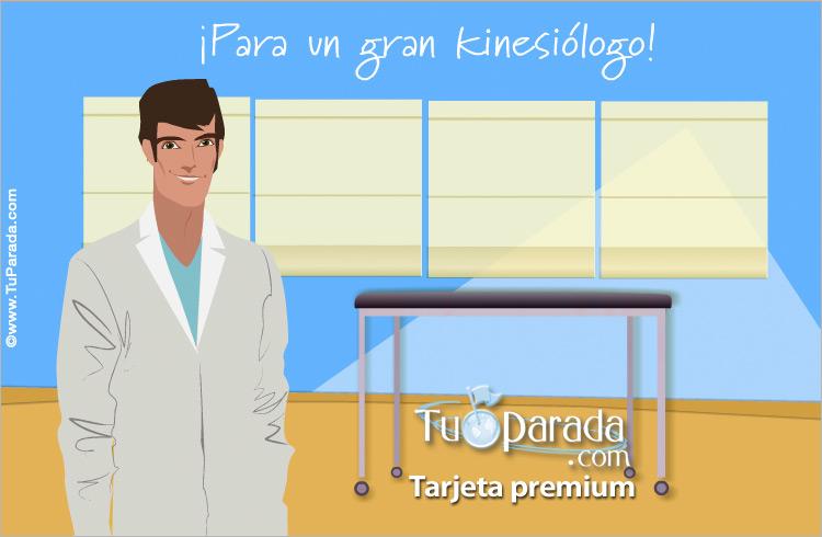 Tarjeta - Tarjeta para kinesiólogos