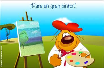 Para un gran pintor