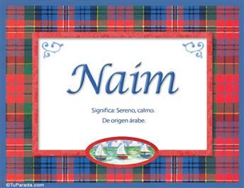 Naim - Significado y origen