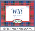 Will - Significado y origen