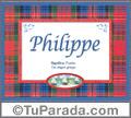 Philippe - Significado y origen
