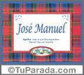 José Manuel - Significado y origen