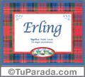 Erling - Significado y origen