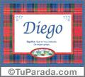 Diego - Significado y origen