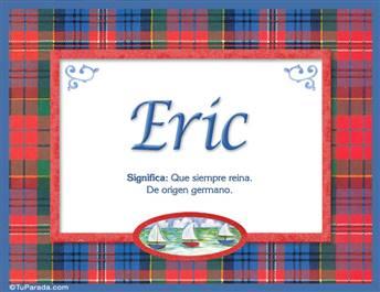 Eric - Significado y origen