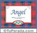 Angel - Significado y origen