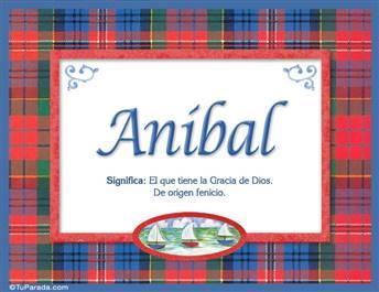 Anibal - Significado y origen