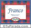 Franco - Significado y origen