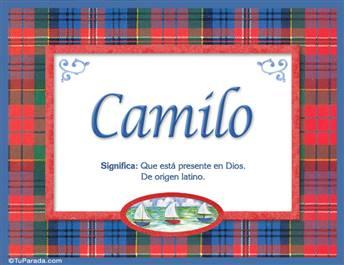 Camilo - Significado y origen