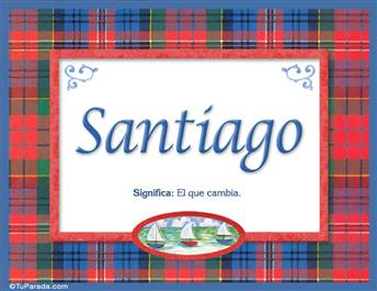Santiago - Significado y origen