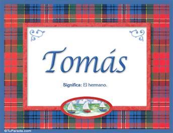 Tomás - Significado y origen