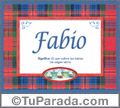 Fabio - Significado y origen