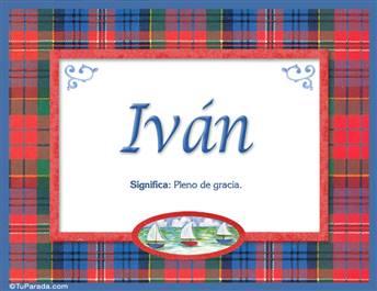 Iván - Significado y origen