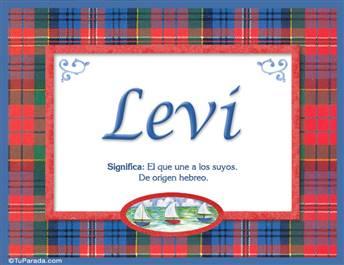 Levi - Significado y origen