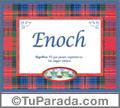 Enoch - Significado y origen