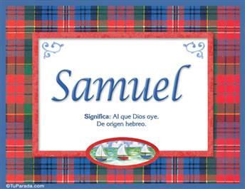 Samuel - Significado y origen