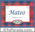 Mateo - Significado y origen