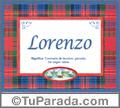 Lorenzo - Significado y origen
