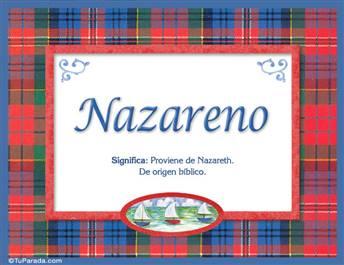 Nazareno - Significado y origen
