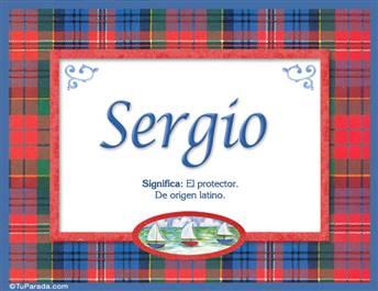 Sergio - Significado y origen