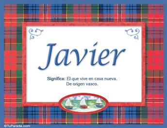 Javier - Significado y origen