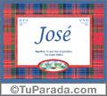 José - Significado y origen