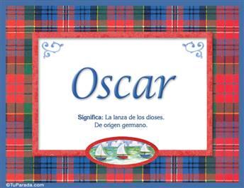 Oscar - Significado y origen