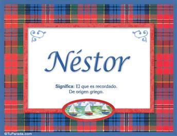 Néstor - Significado y origen