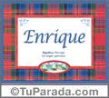 Enrique - Significado y origen