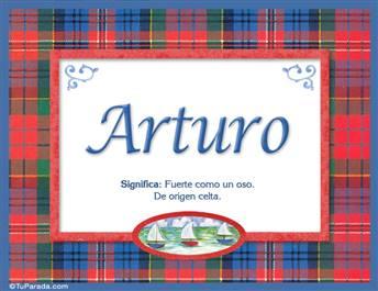 Arturo - Significado y origen