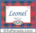 Leonel, nombre, significado y origen de nombres