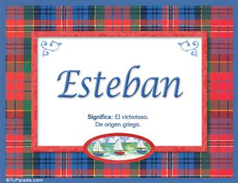 Esteban, nombre, significado y origen de nombres