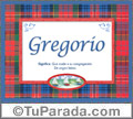 Gregorio, nombre, significado y origen de nombres