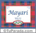 Mayari, nombre, significado y origen de nombres