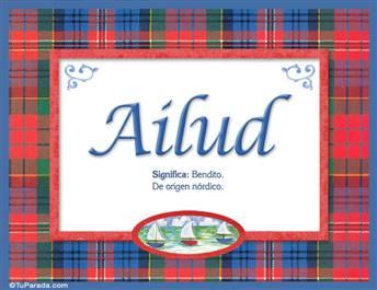 Ailud, nombre, significado y origen de nombres
