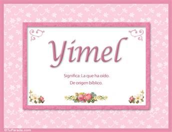 Yimel - Significado y origen